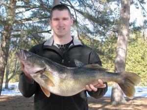 Vermont State Record Walleye
