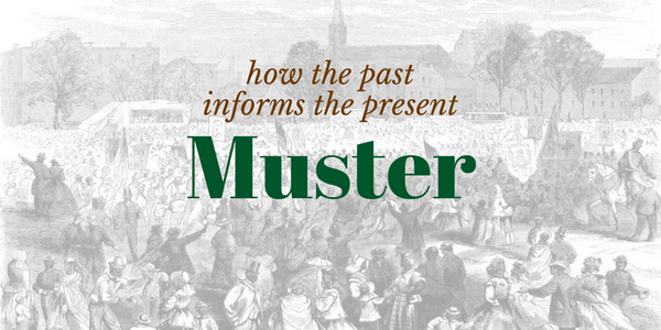 How the past informs the present. Muster.