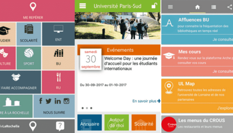 applications mobiles au service des étudiants