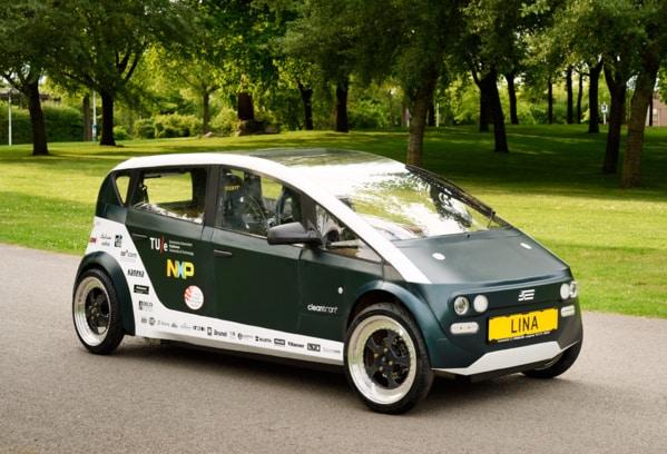 étudiants inventent une voiture électrique biodégradable