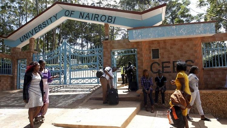 université kenyane/universités kényanes/système biométrique dans les universités kenyanes