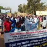 G6-Gouvernement /Grève dans l'enseignement/syndicats d'enseignants