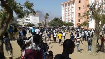 Fallou Sène de l'UGB/ étudiants et forces de l'ordre/grèves perpétrées