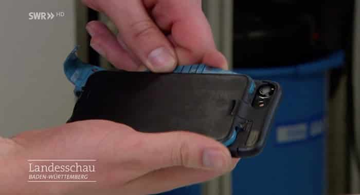 airbag pour smartphone