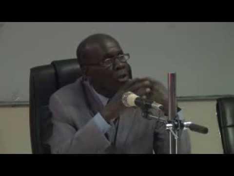 professeur Mamadou KANDJI