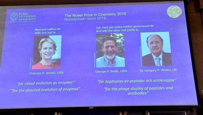 prix Nobel de chimie