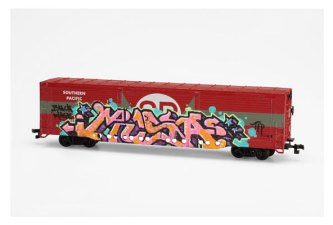 Musa-train-miniature-graff,-2010-c-Mucem,-Yves-Inchierman