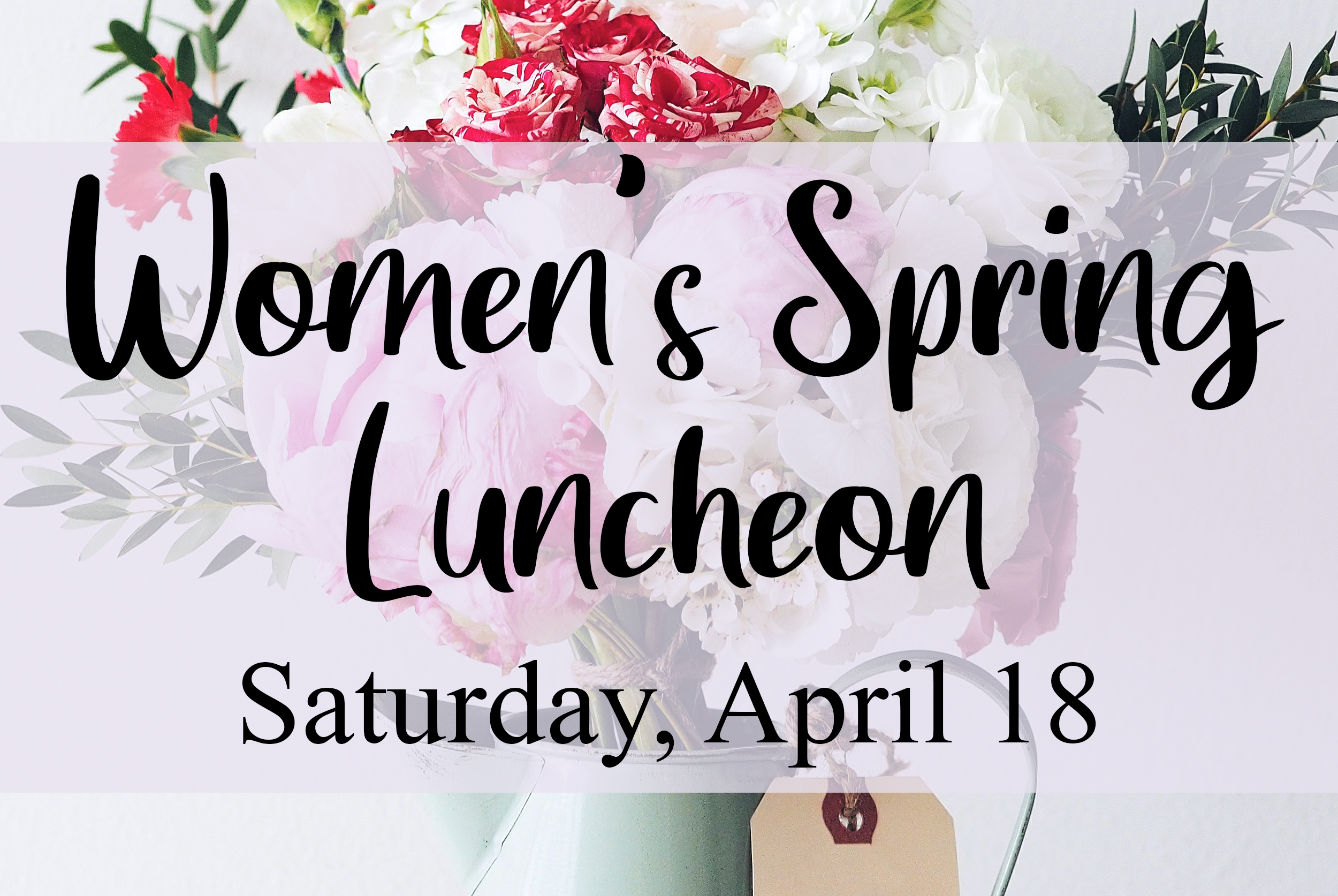 Women's Spring Luncheon announcement event image