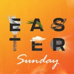 Easter Sunday graphic square icon