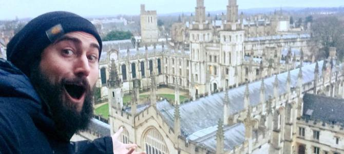 A stormy Sunday exploring the beautiful city of OXFORD!