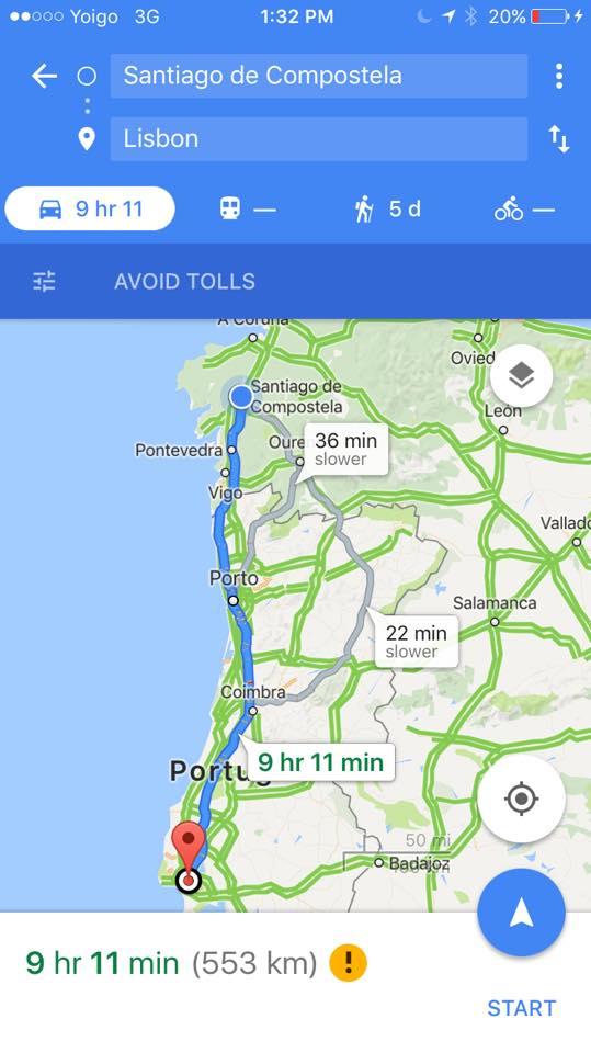 Goodbye Libson Hello Santiago De Compostela Journey Everywhere