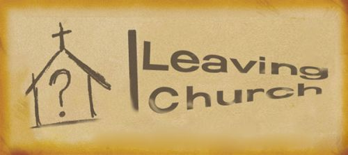 Signs that someone is leaving your church • Notes from the Trail