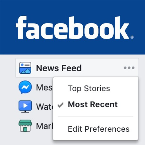 Tired of Facebook defaulting to