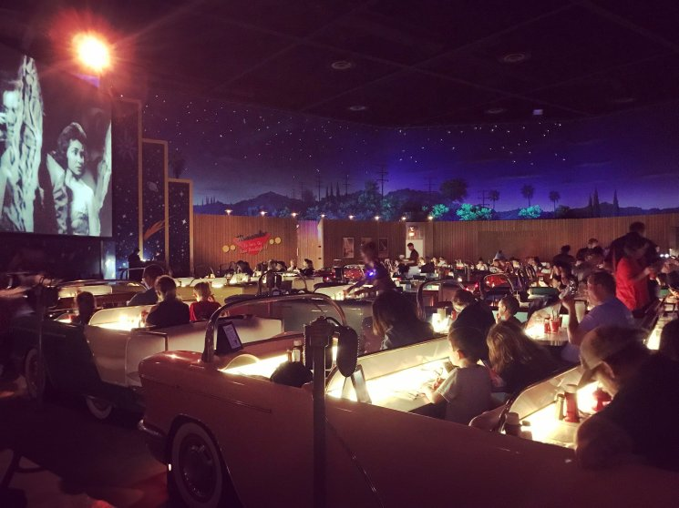 Disney World, Orlando, Florida, Hollywood Studios, Sci-Fi Dine-In Theater Restaurant