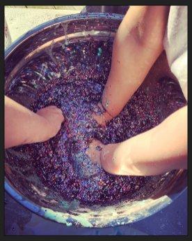 Making Glittery Goo