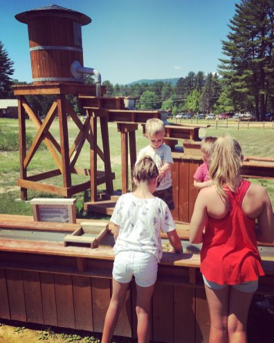 Mining for gold at Cranmore Mountain