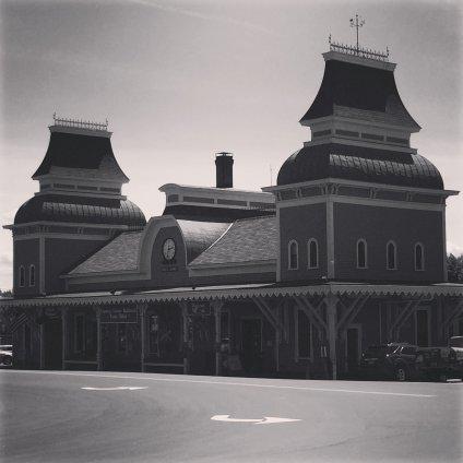 Conway Scenic Railroad Train Station