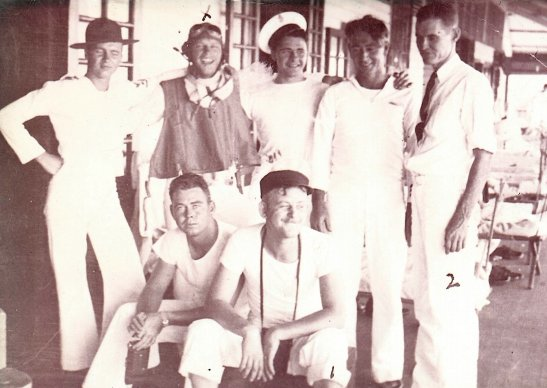George Cumming (far right)