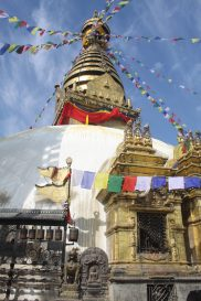 Swayambhunath Temple in Kathmandu