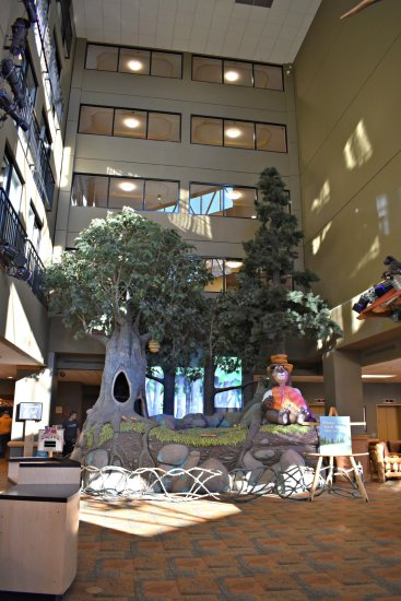Grand Lobby at Great Wolf Lodge
