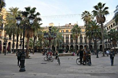 Placa del Reial, Barcelona
