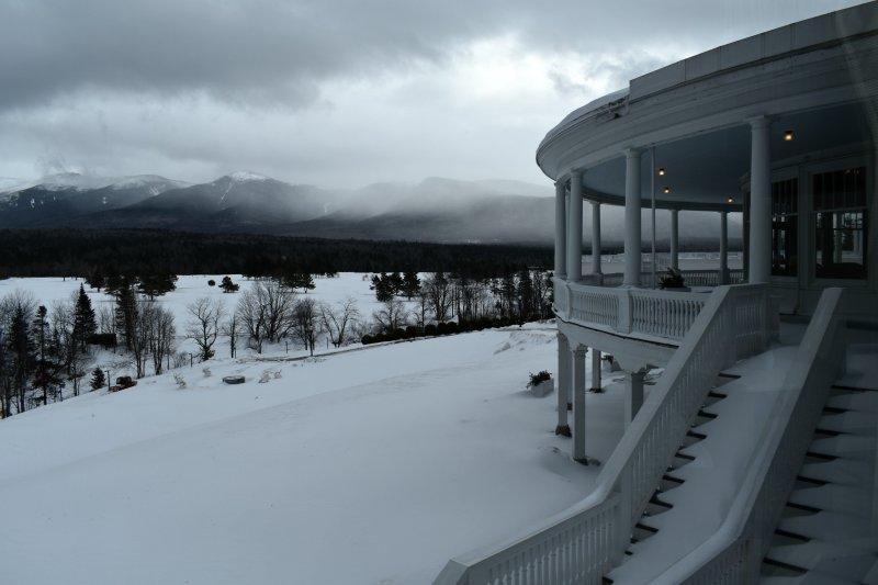 Back of Omni Mount Washington Resort