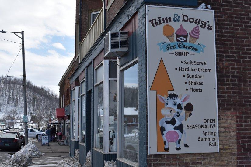Tim & Doug's Ice Cream Shop