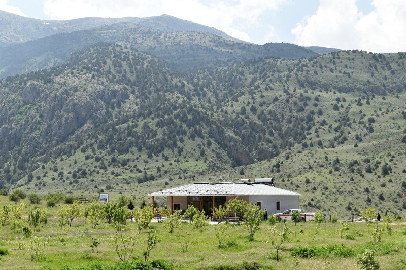 The Eco-Center in the mountains