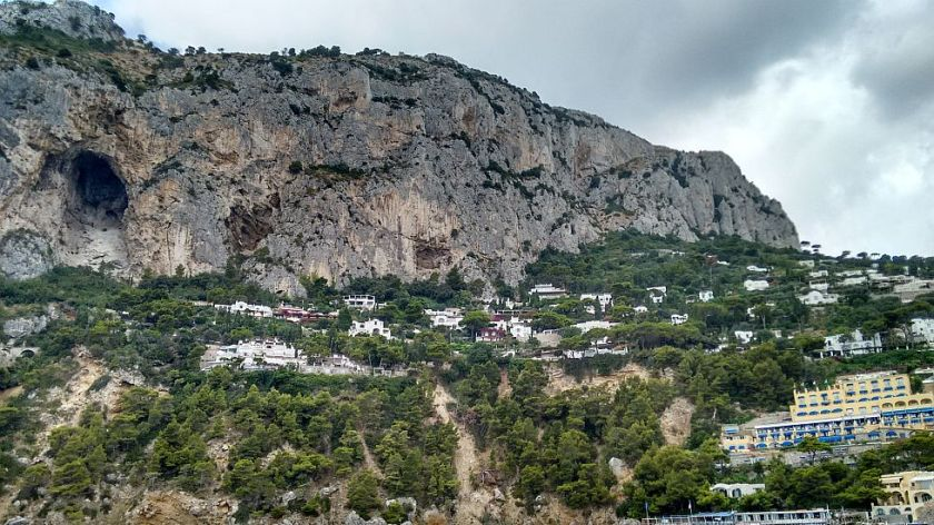 visiting beautiful capri