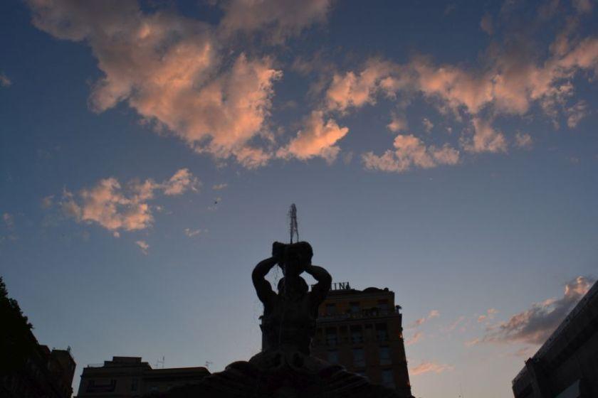rome in twilight