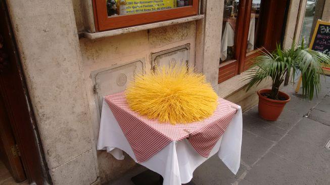 pasta in rome!