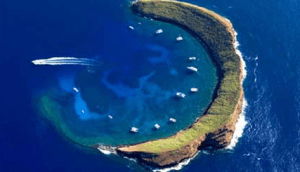 Molokini Crater Hawaiian Islands