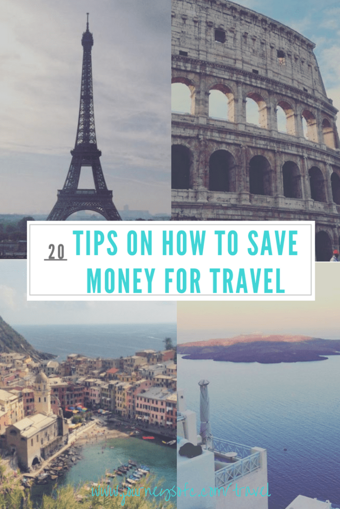 20 tips on how to save money for travel