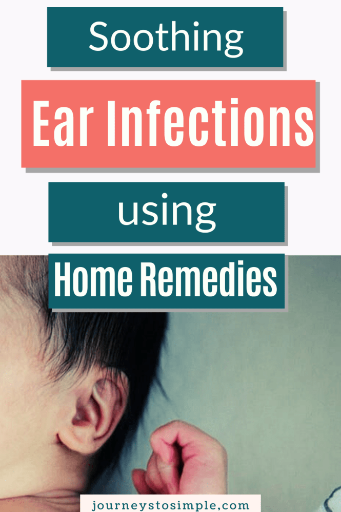 Soothing ear infections with remedies