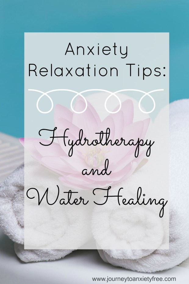 hydrotherapy and water healing