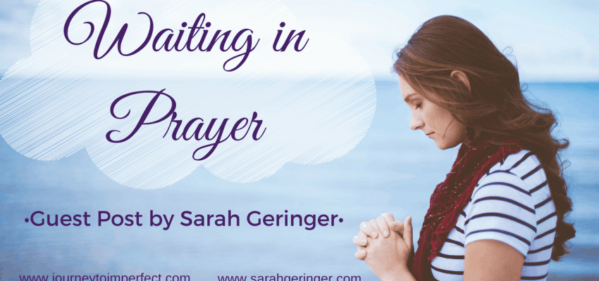 Have you ever had to wait for your prayers to be answered? Have you ever wondered how to wait well? Find encouragement today in a guest post by my friend, Sarah Geringer.