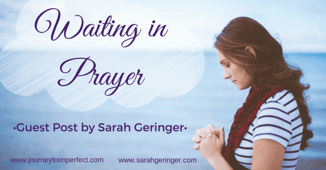 Have you ever had to wait for your prayers to be answered? We all have. And it can be hard. Find encouragement today in a guest post by my friend, Sarah Geringer.