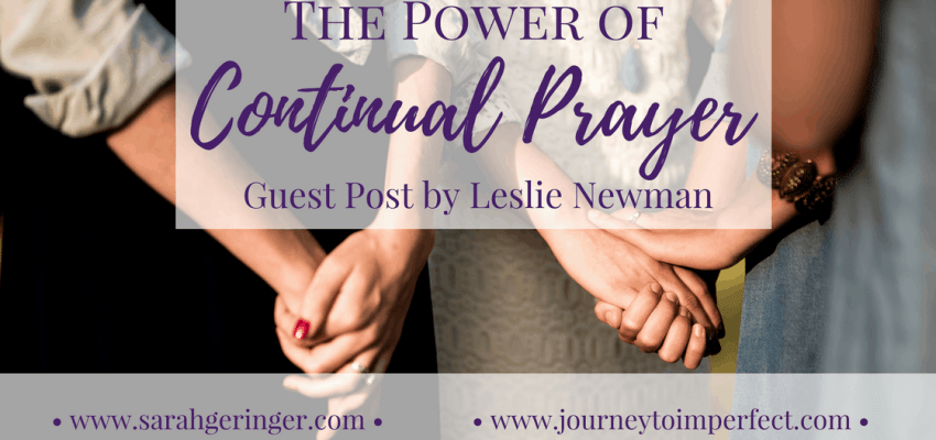 Have you ever wondered what it means to pray without ceasing? Do you feel it's not possible to pray continually? Join us today as we see that an attitude of continual prayer is not only possible, it's powerful!