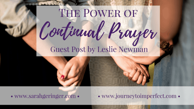 Have you ever wondered what it means to pray without ceasing? Do you feel it's not possible to pray continually? Join us today as we see that an attitude of continual prayer is not only possible, but it is also a powerful strategy for empowering your prayer life.!