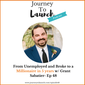 Episode 48- From Unemployed and Broke to a Millionaire in 5 years w/ Grant Sabatier