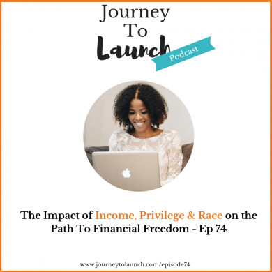 Episode 74 – The Impact of Income, Privilege, & Race on the Path to Financial Freedom