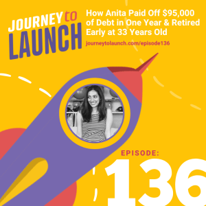 Episode 136- How Anita Paid Off $95,000 of Debt in One Year and Retired Early at 33 Years Old