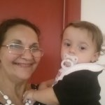 Nonna Ro and grandson Anakin