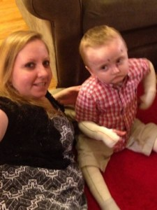 Jax and his mommy Jessica