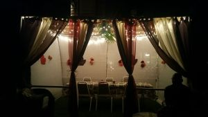 sukkah at night