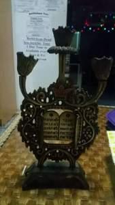 Sabbath Candle Holder