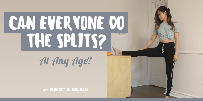 Can Everyone Do The Splits? Do This Side Split Test!