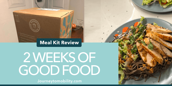 2 Weeks of GoodFood Honest Review (with Pictures!)