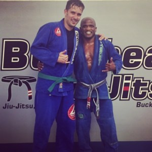 Training in jui-jitsu is now part of his Sabbath rhythm. Taking care of mind, soul, AND body.