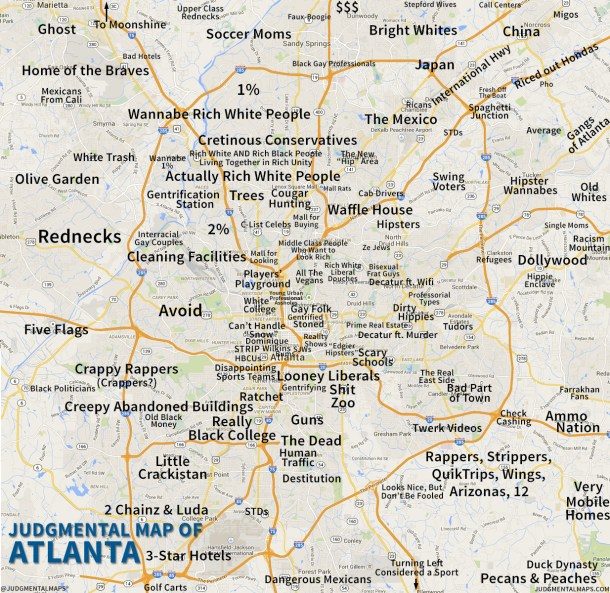 """Just look for the big label """"AVOID"""" to find my neighborhood in Atlanta"""